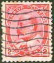 Canada Postage - Wert Two Cents