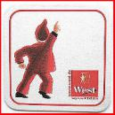 Bierdeckel - West - Ich Disco King, du wildes Ding